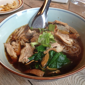 Duck noodle soup at Pure Thai Cookhouse